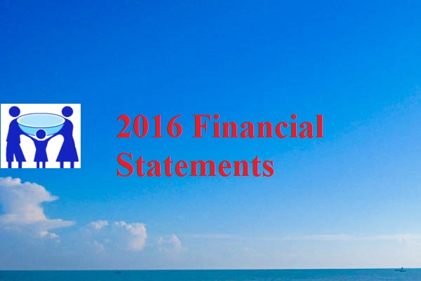 2016 Financial Statement